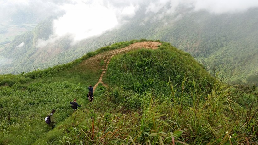 A mountain hike up Pu Chi-Fa during a trip to Thailand last summer.