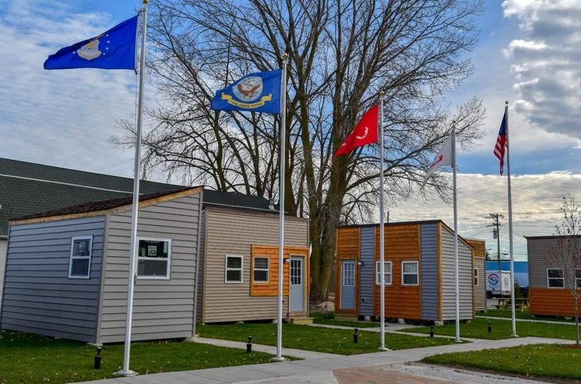 James A Peterson Veteran Village in Racine