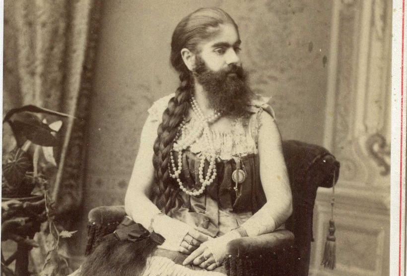 Annie Jones, bearded woman