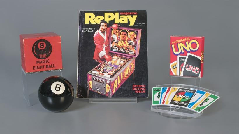 8 Ball, Pinball and Uno