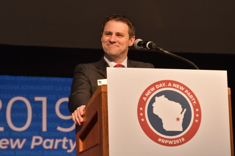 Republican Party of Wisconsin Chairman Andrew Hitt