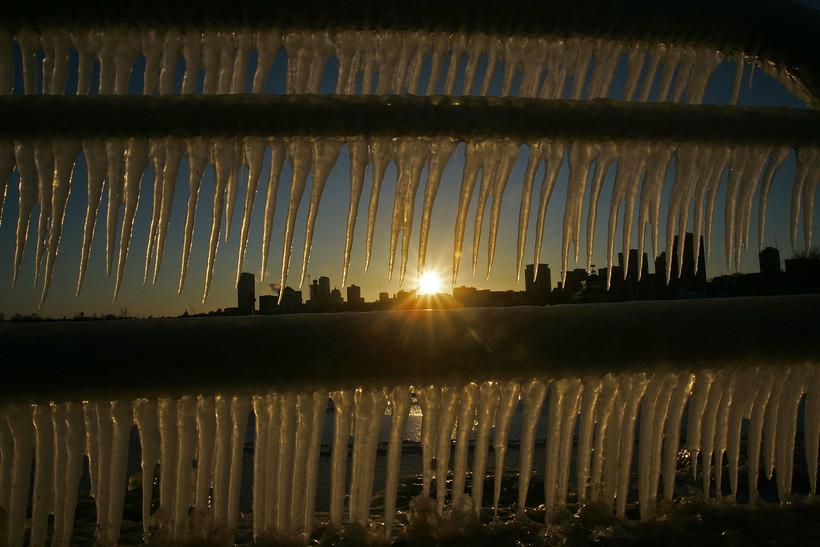 Milwaukee in the winter
