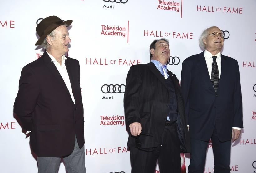 Bill Murray, Dan Aykroyd and Chevy Chase