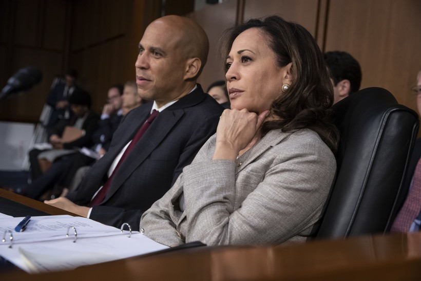 cory booker kamala harris