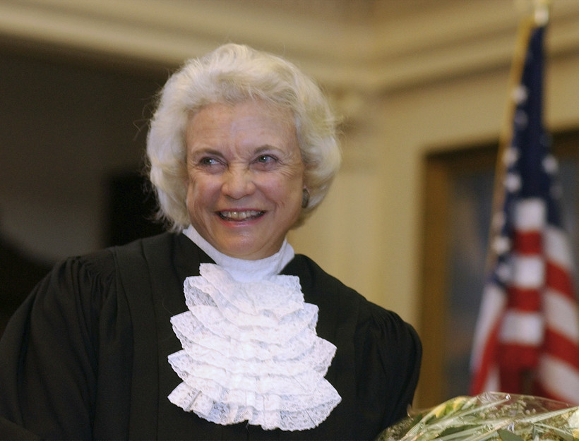 Sandra Day O'Connor in 2003.