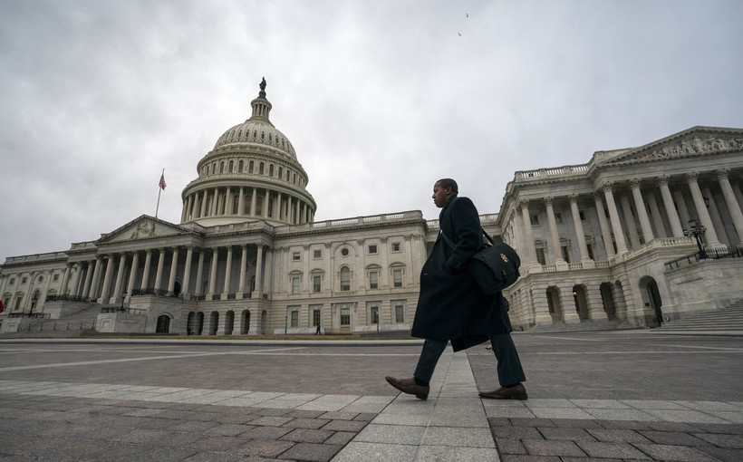 Capitol Hill Congress Shutdown Government Federal Budget President