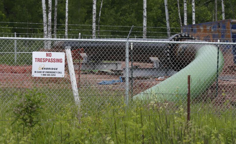 An Enbridge pipeline