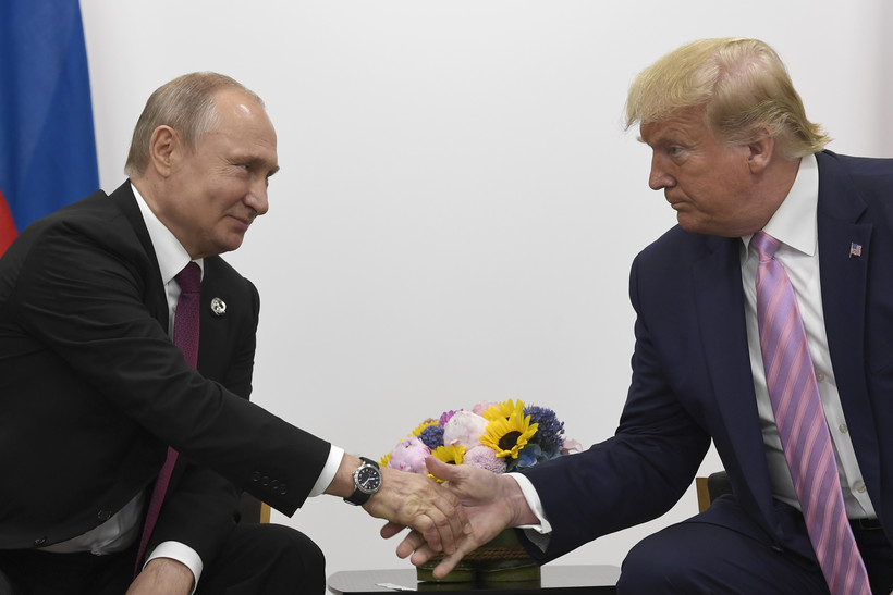 Russian Pres. Vladimir Putin & US Pres. Donald Trump