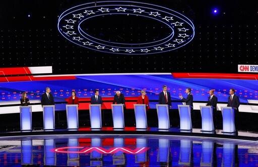 10 Democratic presidential candidates