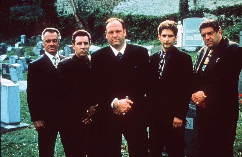 "Members of ""The Sopranos"" cast"