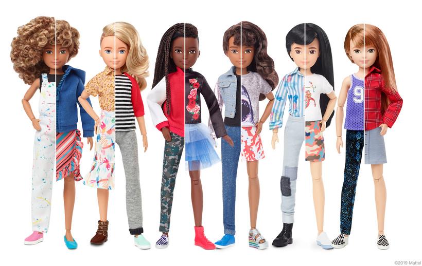 Mattel's new Creatable World dolls