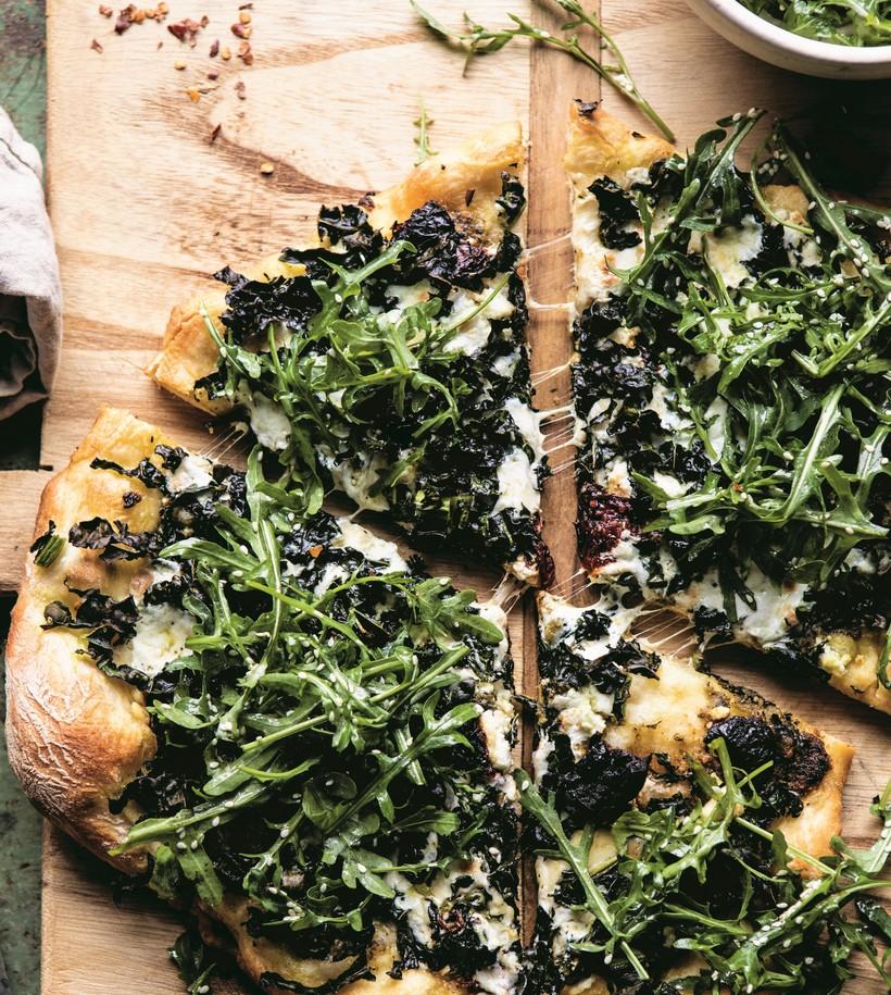 Image result for half baked harvest the meanest greenest pizza