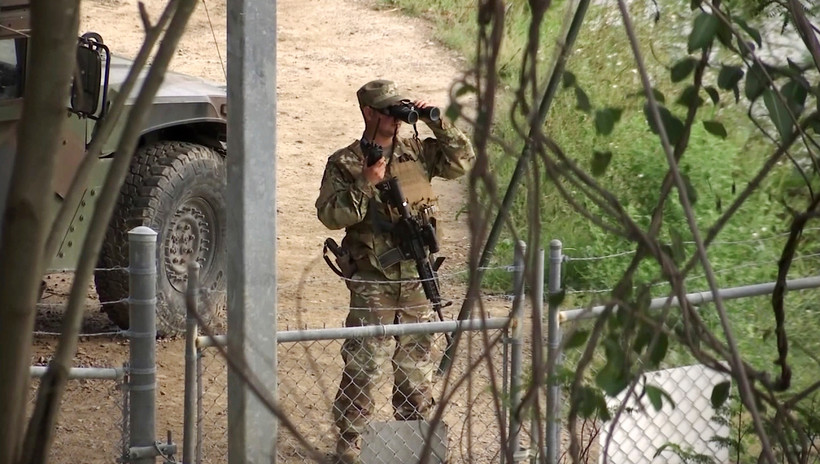 National Guard soldier in Texas