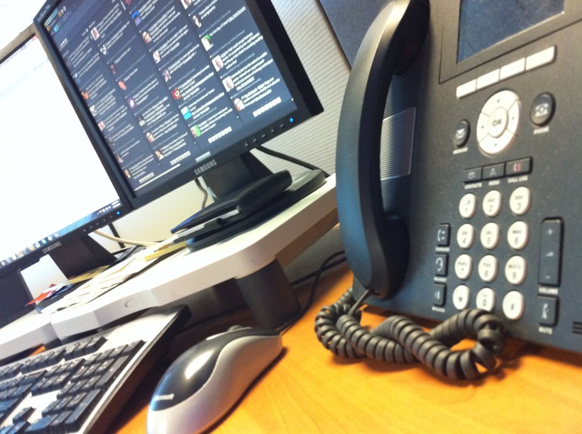 Office desk phone
