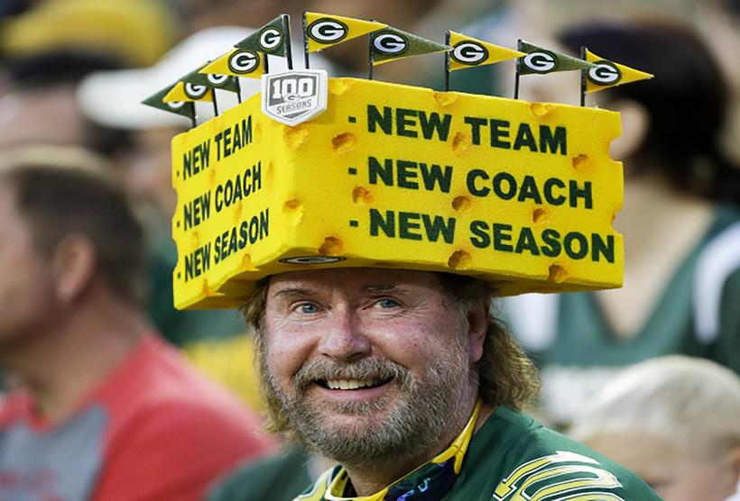 Preseason NFL football game, Green Bay Packers and the Kansas City Chiefs