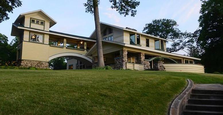 The Frank Lloyd Wright designed summer estate called Penwern