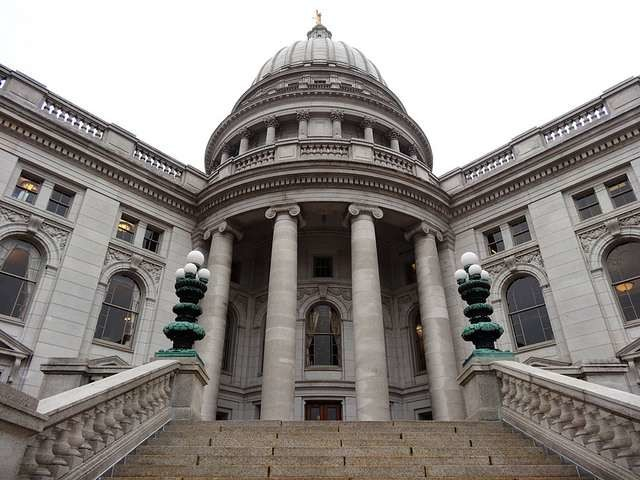West Side of Wisconsin State Capitol