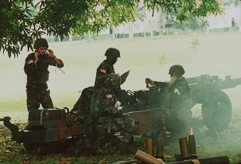 U.S. troops in Panama