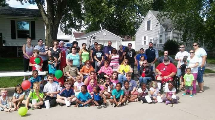 appleton community block party picnic