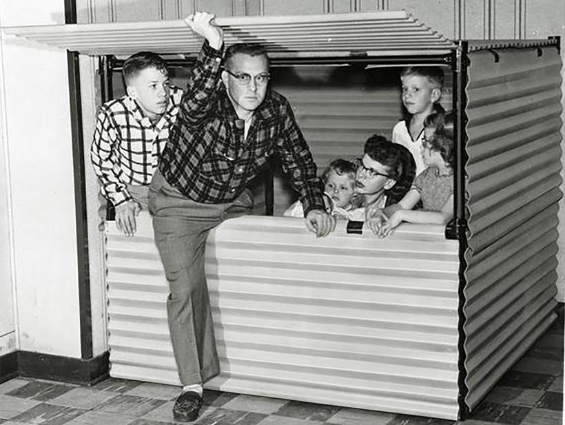 cold war bomb shelter