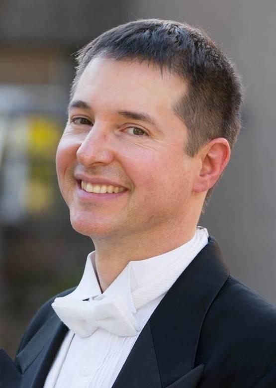 Photo of Robert Gehrenbeck, Artistic Director of the Wisconsin Chamber Choir