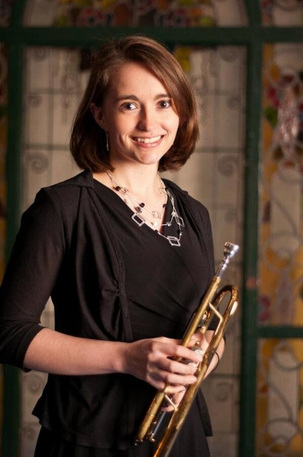 Photo of trumpeter Jessica Jensen