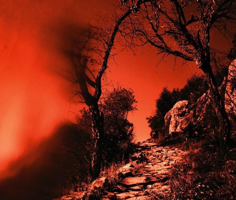 Ascending Roman road