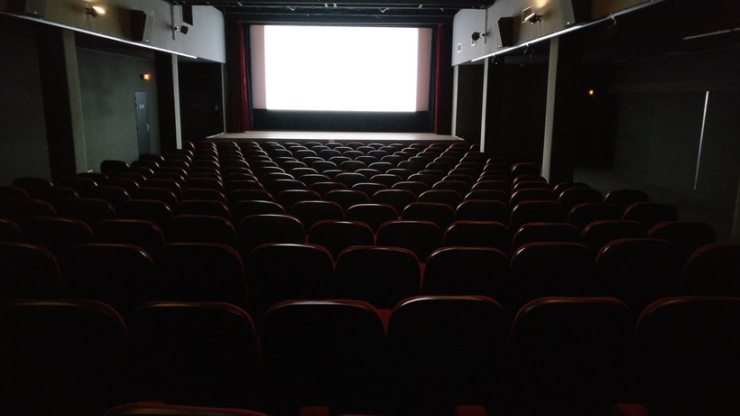 Movie theatre interior