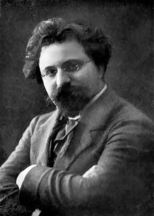 Photo of German composer Sigfrid Karg-Elert