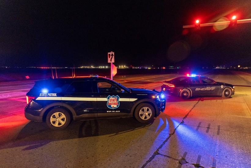 Police block road near Oneida Casino