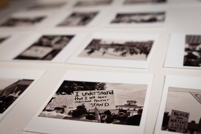 Protest photos in the collection at the Neville Public Museum