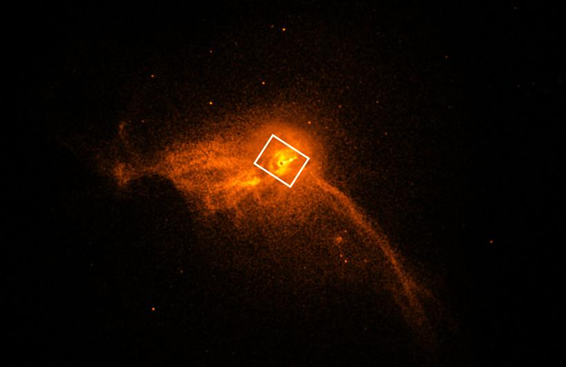 M87 galaxy with black hole