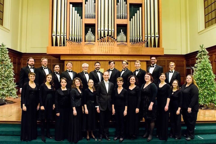 Photo of the members of the Madison Choral Project