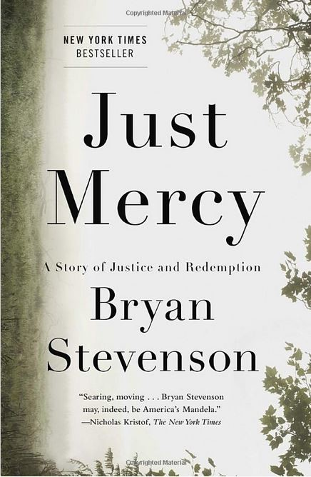 Bookcover for Just Mercy by Bryan Stevenson