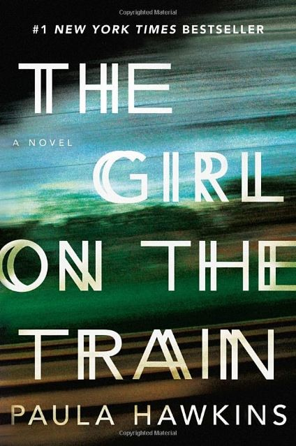 "Book cover for ""Girl on the Train"""