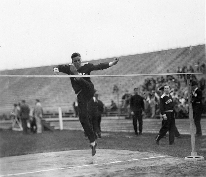 Badger athlete and Olympian Charles McGinnis