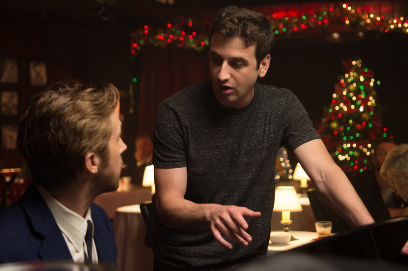 Composer Justin Hurwitz and actor Ryan Gosling
