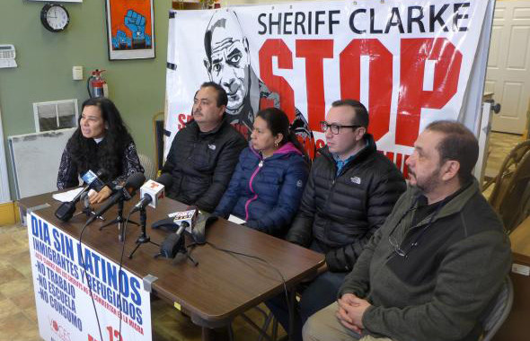 Immigrant rights advocacy group Voces de la Frontera announces plans for day without Latinos, immigrants and refugees