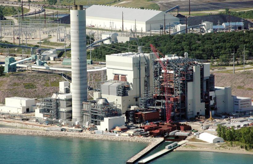 We Energies Oak Creek Power Plant Elm Road Generating Station