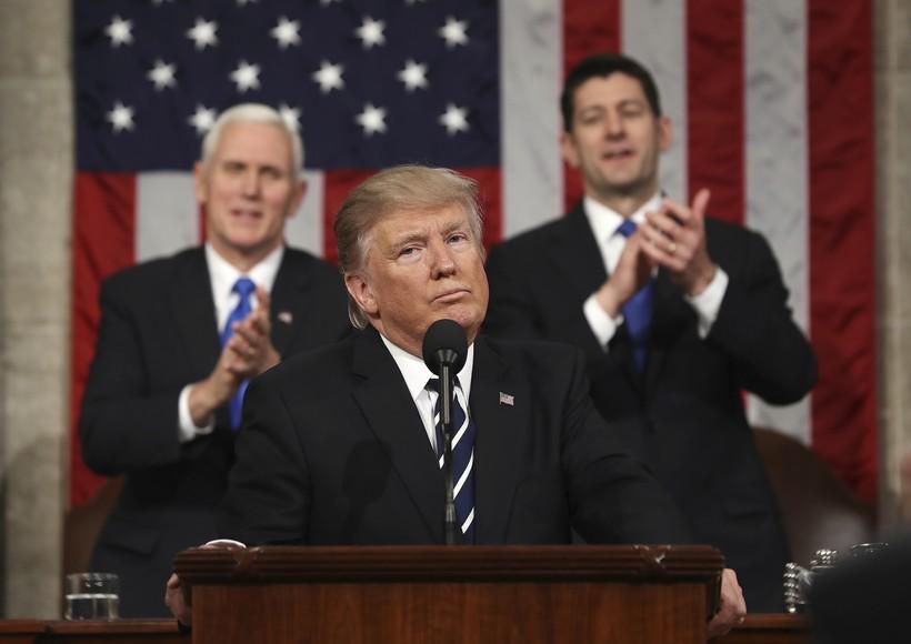 Mike Pence, Donald Trump, Paul Ryan