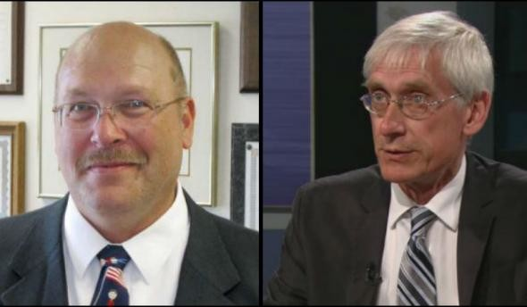 Lowell Holtz and Tony Evers