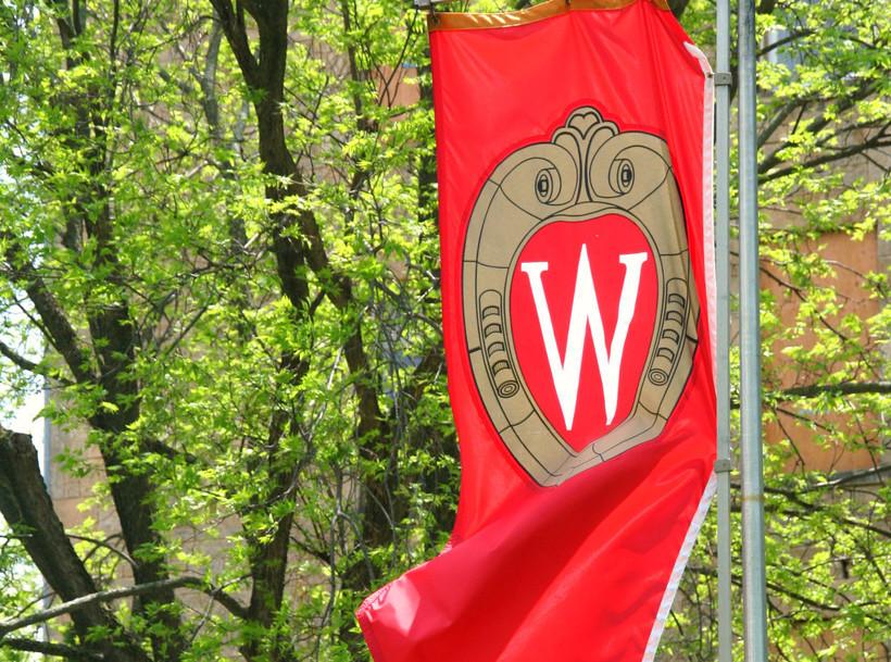 University of Wisconsin-Madison flag