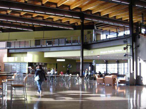 Yellowjacket Union on UW-Superior's campus