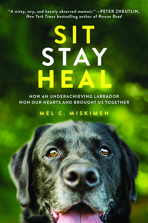 Book cover image for Sit Stay Heal by Mel Miskimen
