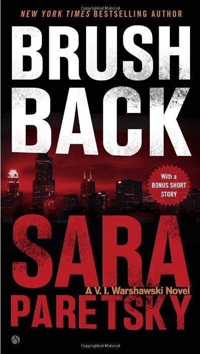 Book cover image for Brush Back By Sara Paretsky