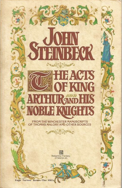 a report on john steinbecks king arthur King john and prince arthur from thirty more famous stories retold by james baldwin.