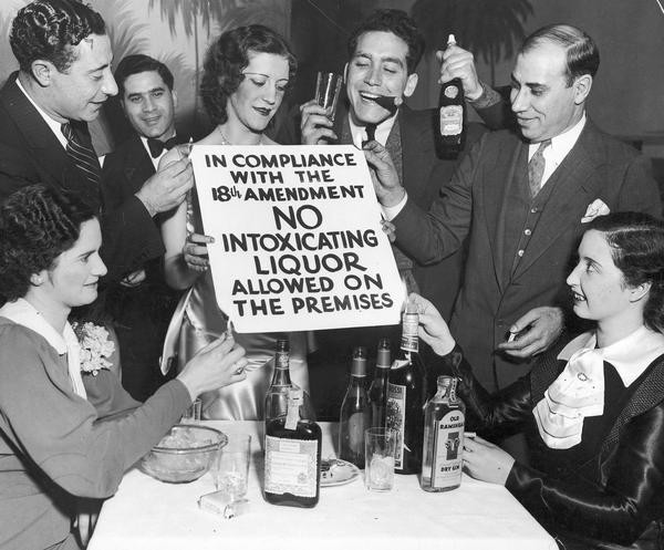 Image result for vintage photos of the prohibition