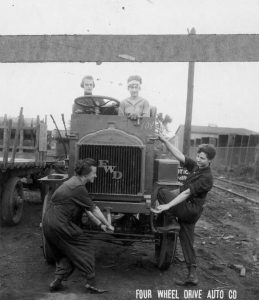 Women at work at the Four Wheel Drive Co.