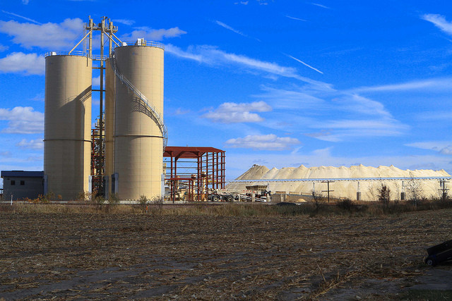 frac sand processing plant