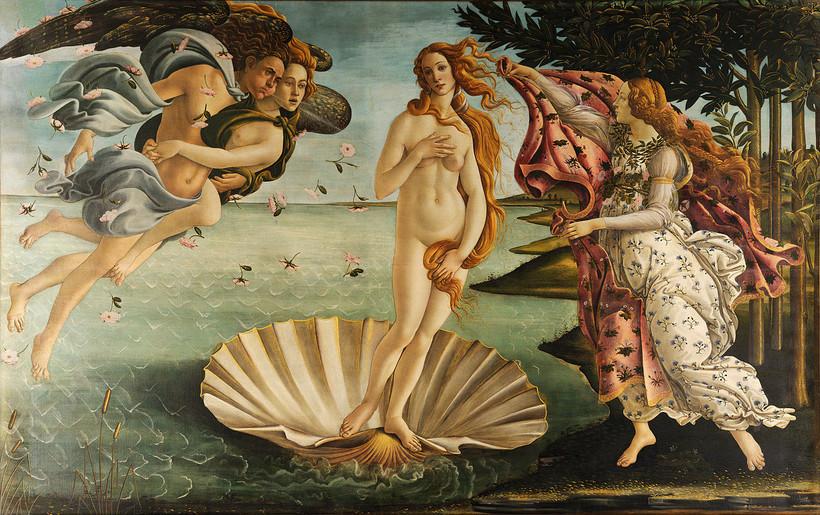 Boticelli's The Birth of Venus
